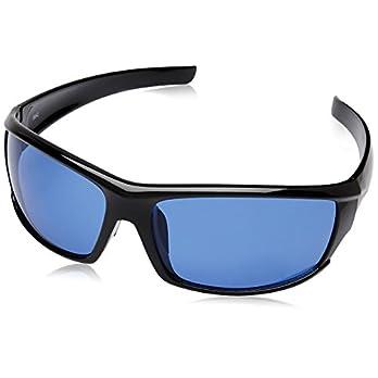 Fastrack Black Wrap Unisex Sunglasses (P223BU2 66 Blue)