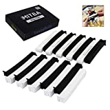 kitchen appliance packages black friday Bag Clips By MiTBA – 4in Snack and Chip Clips with Strong Grip that will Keep Your Food Fresh! These Easy to Use Bag Sealers will put an end to Wasting! Black & White, Set of 20 Units. Seal The Deal!