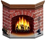 Brick Fire Place Stand Up