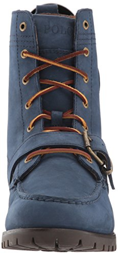 Lauren Ralph Navy Boot Hiker Newport Ranger Polo up Lace Men's p5wqnnAfP
