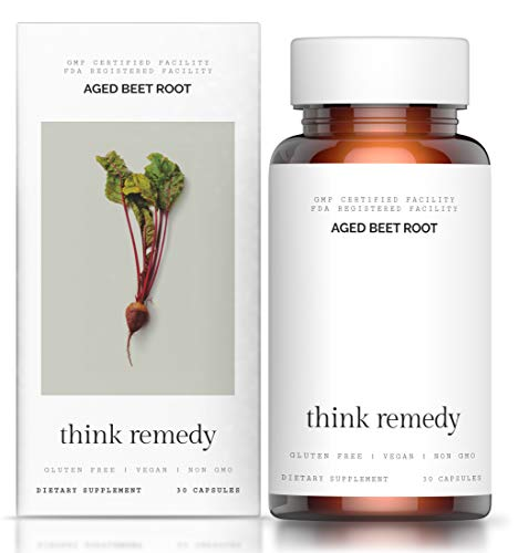 Aged Beet Root Capsules Supplement