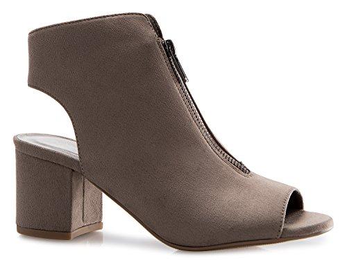 pep toe boots - 1