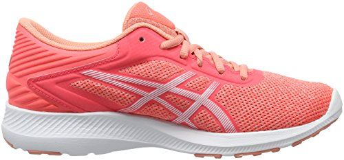 White Melba Femme Flash Coral Nitrofuze Orange Peach Asics Gymnastique FwzPq1zZ