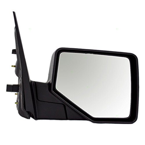 Passengers Power Side View Mirror with Puddle Lamp Replacement for Ford Mercury Pickup Truck SUV 6L2Z17682BAA