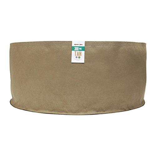 Wtb (10 Pack) 300 Gallon Tan Grassroots Fabric Pot - Grow...