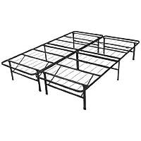 Spa Sensations Steel Smart Base Bed Frame Black, twin