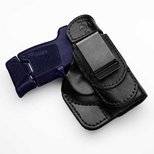 Talon Holsters Compatible Sig Sauer P290 TuckableIWB Concealed Carry Leather Holster (Black, Right Hand)