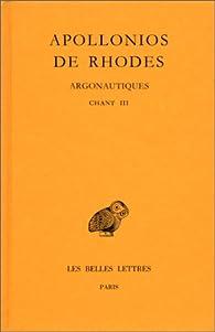 Argonautiques, tome 2 : Livre 3 par  Apollonios de Rhodes