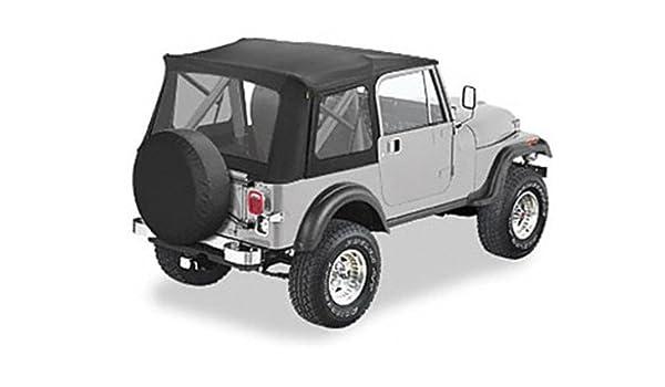 Jeep Yj Soft Top >> Amazon Com Bestop Jeep Cj7 Yj Wrangler Supertop Soft Top
