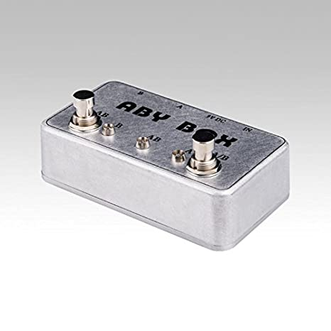 Amazon.com: New Hand made ABY Switch Box For Effects Pedal-TRUE BYPASS- Amp/ guitar AB: Musical Instruments