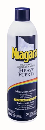 Niagara Spray Starch Aerosol Heavy 20 OZ (Pack of 24) by Niagara