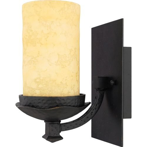 Quoizel LP8601IB 1-Light La Parra Bath Light in Imperial Bronze ()