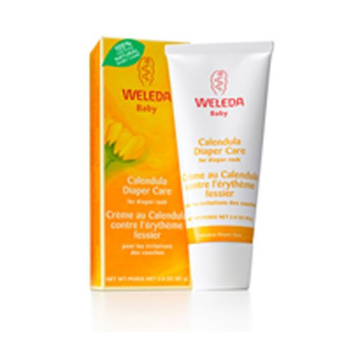 Weleda Calendula Diaper Rash Cream, 2.9 Ounce (2 Pack)