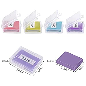 Sntieecr 8 Pack Drawing Art Kneaded Rubber Erasers for Artists – 4 Colors, Large Size with Case