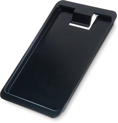 Carlisle 302003 Check Holder / Presenter & Tip Tray, Black (Case of 12)