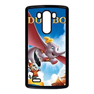 Durable Rubber Cases LG G3 Cell Phone Case Black Xzlam Dumbo Protection Cover