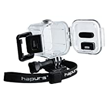 Hapurs Diving Waterproof Housing Protective Case Cover For GoPro 4 Hero Session Sport Camera Accessories