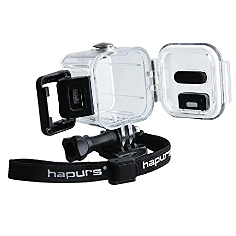 Hapurs Diving Waterproof Housing Protective Case Cover For GoPro Hero 4 Session 5 Session Sport Camera (Gopro Case And Accessories)