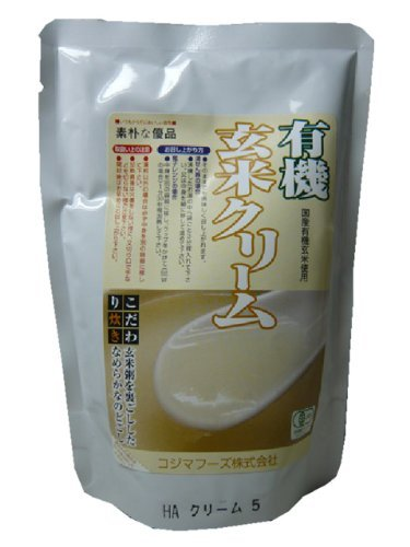 Kojima Foods organic brown rice cream (200g) 20 pieces
