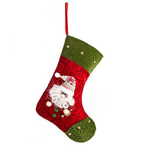 Green Santa Ornament - 4
