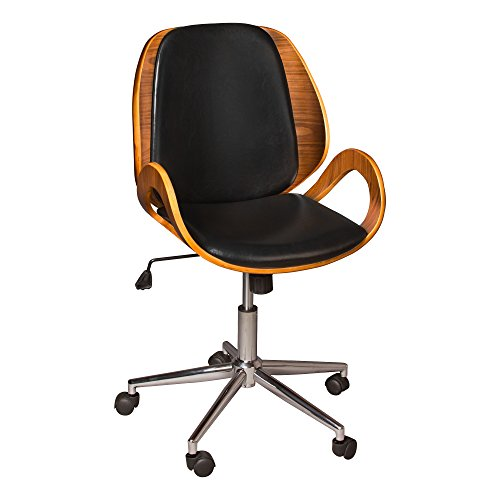 Norwood Commercial Furniture Bentwood Office Chair with Loop Arms, NOR-ADN3023-SO ()