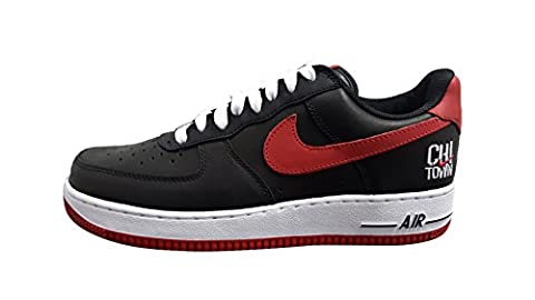 Nike Air Force 1 Low Retro Black/Varsity Red-White (9.5 D(M) US)