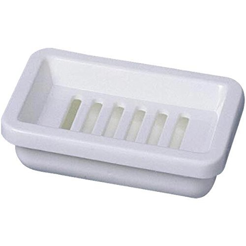 Plastic Counter Soap Dish by HOMZ ()
