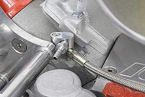 ICT Billet LS Throttle Body Bypass Hose kit Coolant Steam Crossover LS1