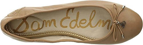 Sam Edelman Womens Felicia Ballet Flat Golden Caramel