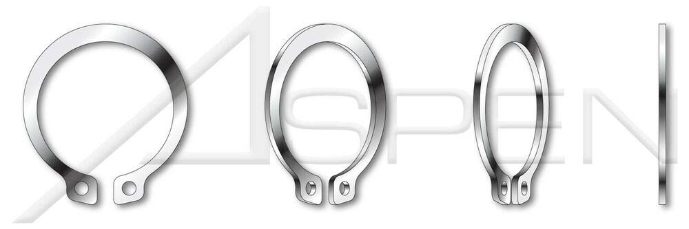 9 pcs M32 DIN 471 External Retaining Rings Stainless Spring Steel