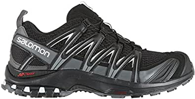 Salomon Men's XA Pro 3D Trail Running Shoe, (Wide), Black/Magnet/Quiet Shade, 9 US