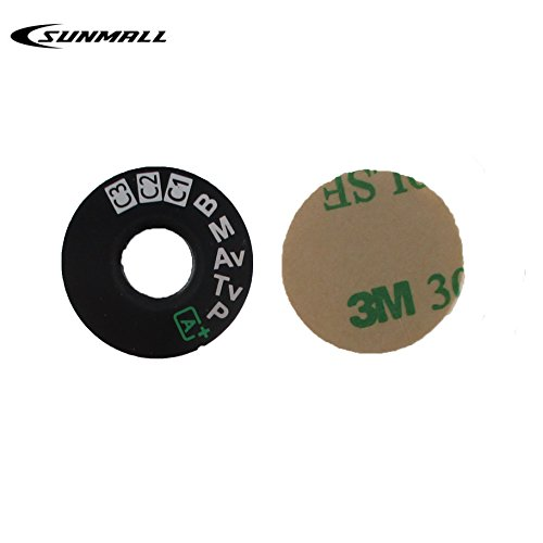 SUNMALL Interface Cap Button Replacement Part for Canon EOS 5D Mark III,Dial Mode Plate for Canon eos 5d mkiii, Digital Camera Repair Accessories for Canon 5d Mark 3(6 Months Warranty)