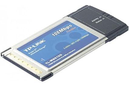 TP-LINK Tarjeta Red WiFi 108 Mbps Formato PCMCIA 32bits ...