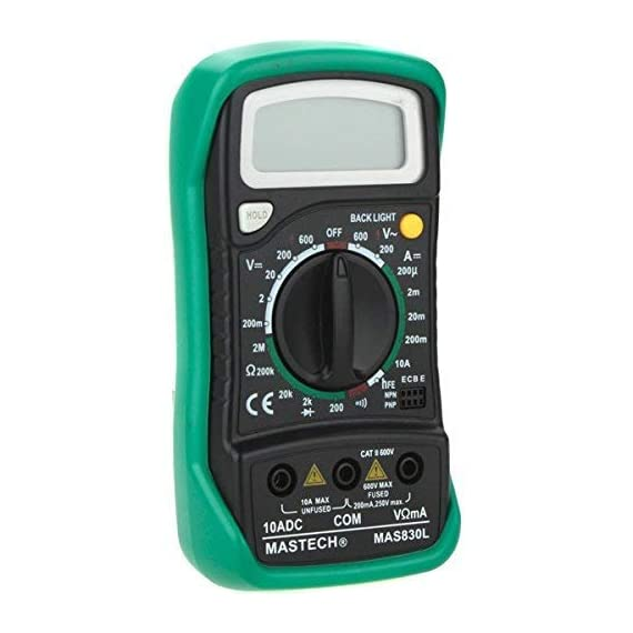 Mastech MAS830L Digital Pocket Multimeter (Assorted) 6