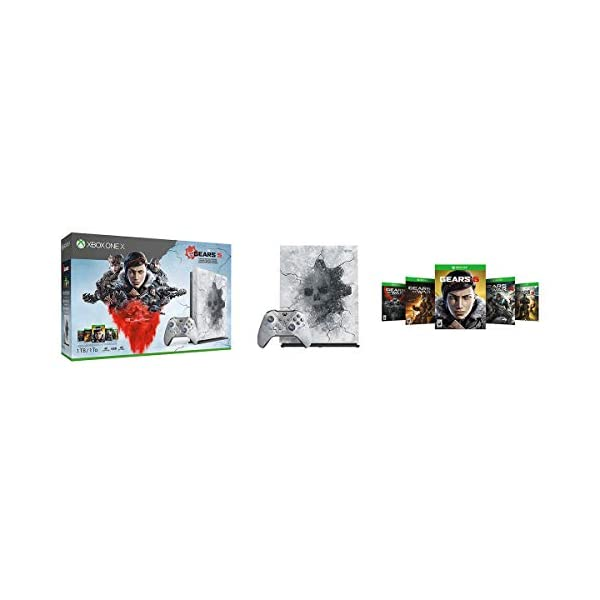 Xbox One X 1Tb Console - Gears 5 Limited Edition Bundle [DISCONTINUED] 1