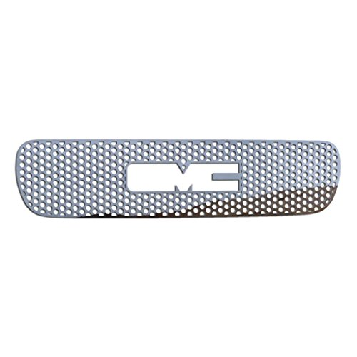 Ferreus Industries Polished Stainless Circle Punch Grille Grill Insert Trim fits: 2000-2006 GMC Yukon & 1999-2002 GMC Sierra TRK-130-03-02