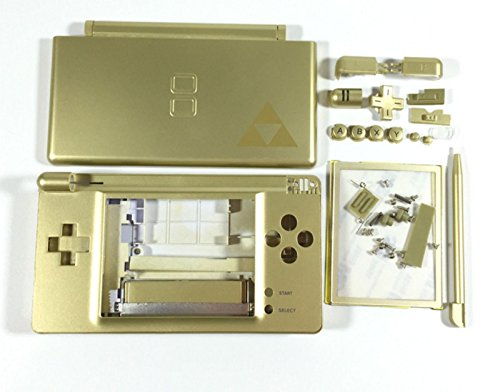Full Housing Cover Case - Replacement Full Housing Shell Case Cover for NDSL Limited Edition Nintendo DS Lite Game Console with Button Kit Full Set