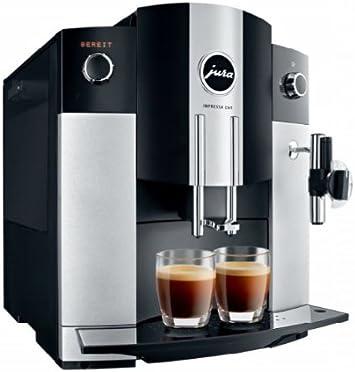 Jura 15024 - Cafetera automática, 1450 W, 1.9 l, color negro y ...