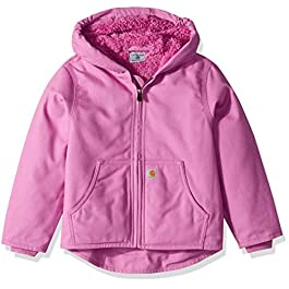 Girls' Redwood Jacket Sherpa Lined