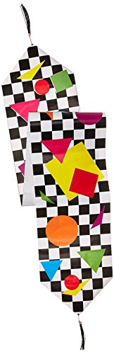 Printed Party Shapes Table Runner Party Accessory (1 count) (1/Pkg)