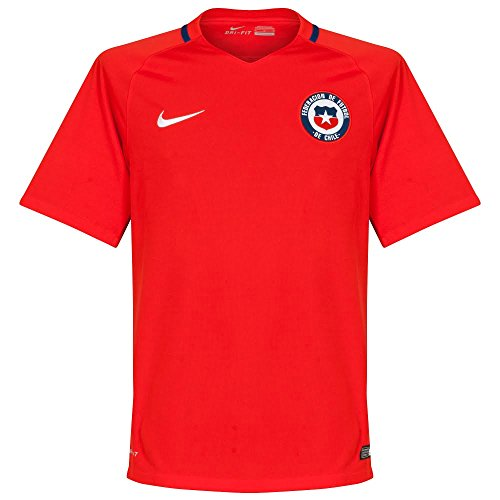 2016 Chile - NIKE Chile Home Jersey 2016/2017 - L