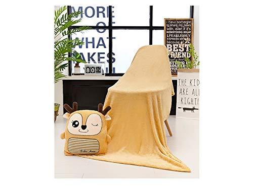 GYPO Calentador de Manos Acogedor Almohada de para Mano con Manta para Regalo de Oficina (Ciervo) para de Invierno 26e4b4