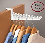 "9"" Laundry Over the Door Hook 2 Pack"