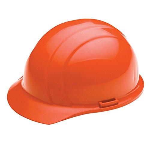 ERB 19335 Liberty Cap Style Hard Hat with Mega Ratchet Flourescent Orange