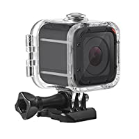 Kupton Custodia Impermeable Protettiva per GoPro Hero 5 Session Custodia per Subacquea Fino a 45m con Presa Mobile Rapida e Vite per Go Pro Hero 5 Session & Hero Session Case