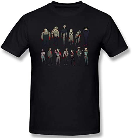 Dead By Daylight DBD Killers Tシャツ メンズ 半袖 夏 カジュアル トップス 大きい サイズ ゆったり 大きい サイズ 無地 Tシャツ