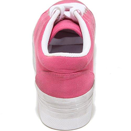 Rosa Women Play Zeppa 3212i Sneakers Scarpe Jeffrey Donna Shoes Zomg E Campbell q6xwa4P