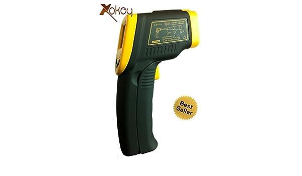 Infrarrojos IR Termómetro Pistola (sin contacto) W/Laser Targeting - Handy herramientas para cocinar/alimentos termómetro, bebé termómetro de oído ...