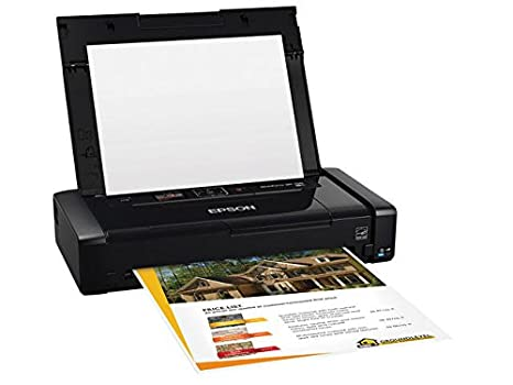 Epson WorkForce WF-100 Wireless Mobile Printer Ink Printers at amazon