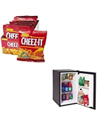 KITAVASHP2501BKEB12233 - Value Kit - Avanti Freestanding Refrigerator (AVASHP2501B) and Kelloggs Cheez-It Crackers (KEB12233)